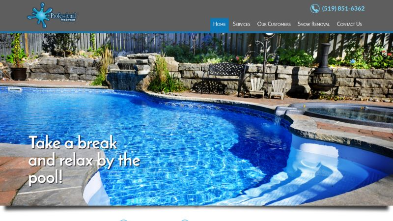 Home chad tiffin web development london ontario for Pool design london ontario